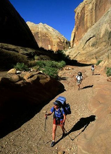美国犹他州和亚利桑那州海杜克步道