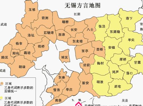 无锡市地图全图_2018无锡最新区域划分