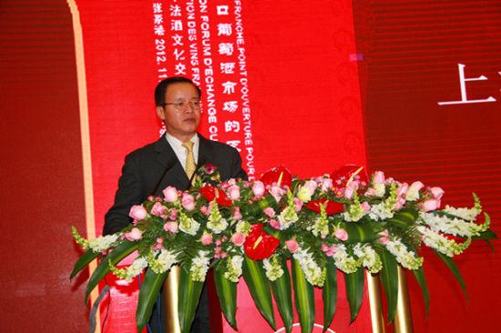 朗歌国际董事长岑岭讲话