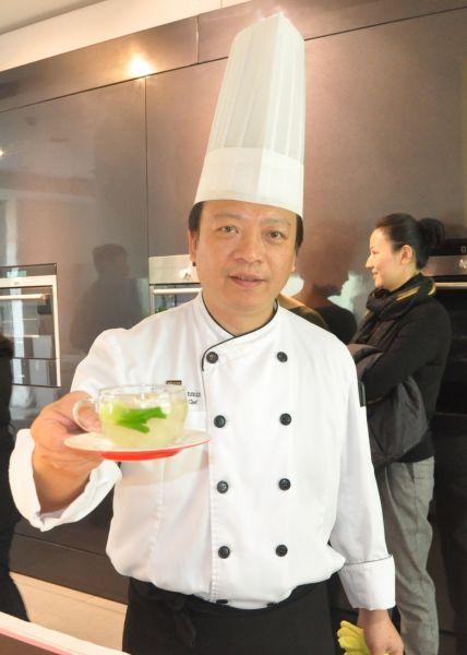南京威斯汀大酒店中国元素中餐厅行政总厨殷允民