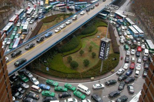 组图:上班族最苦逼揭秘各国堵车最变态城市