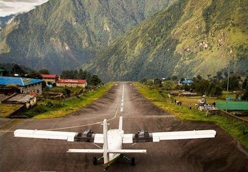 世界上最危险的机场建在万丈深渊之上