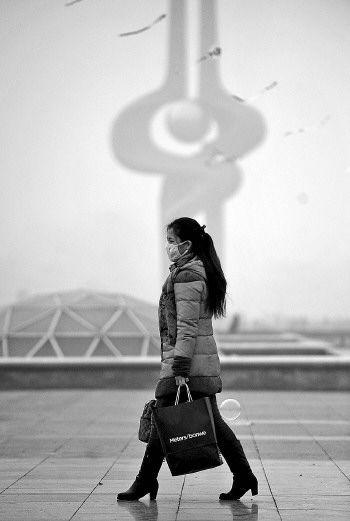 雾霾肆虐 中国污染最严重的城市