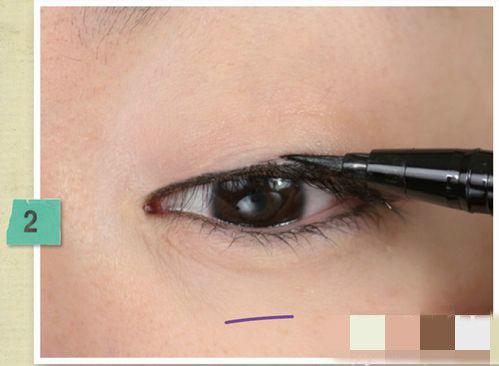 你可以这么画眼线 真人步骤3式必杀技