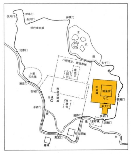 南京城平面图