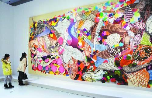 从这个展览开始,国内美术馆级别的机构逐渐开始放宽图片