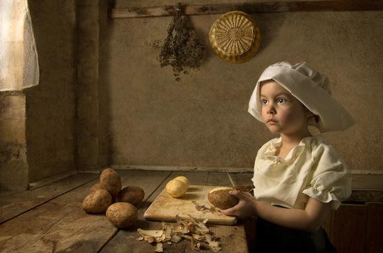 文艺复兴版的儿童摄影