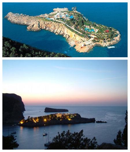世界十大私人岛屿属于自己的美丽天堂(组图)