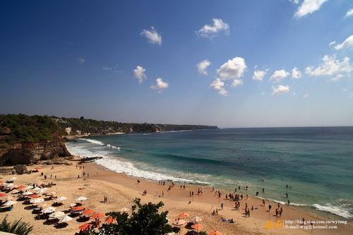 巴厘岛梦幻海滩