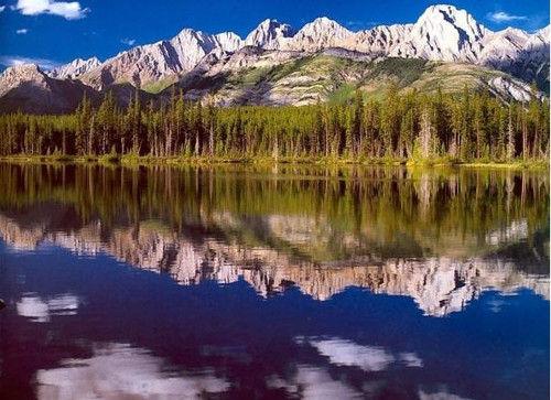 《燃情岁月》与落基山脉