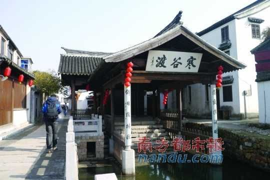 陆巷古村,太湖边上的小村庄