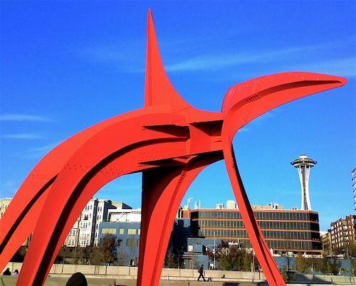 奥林匹克雕塑公园(The Olympic Sculpture Park )