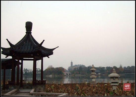 换个角度欣赏,江天禅寺标志性建筑——慈寿塔