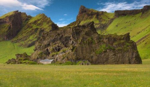 石屋,冰岛