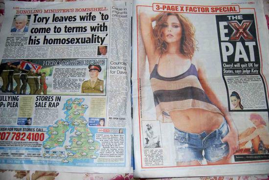 英国:1美元可以买到2份太阳报