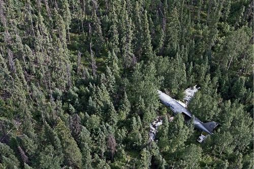 全球荒野飞机残骸美景