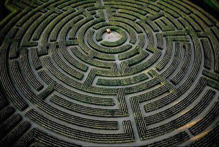 一旦走入再难逃出的全球八大迷宫(组图)