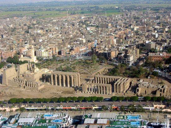 埃及卢克索神庙 luxortemple