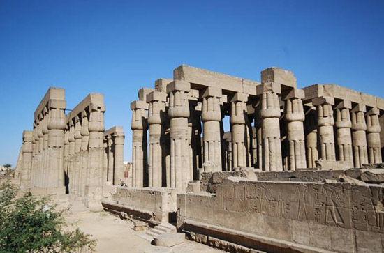 埃及卢克索神庙(luxortemple)