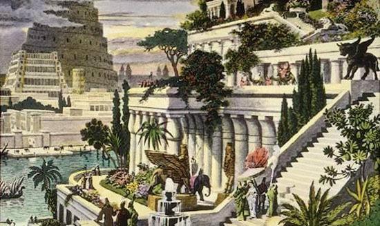 伊拉克巴比伦空中花园