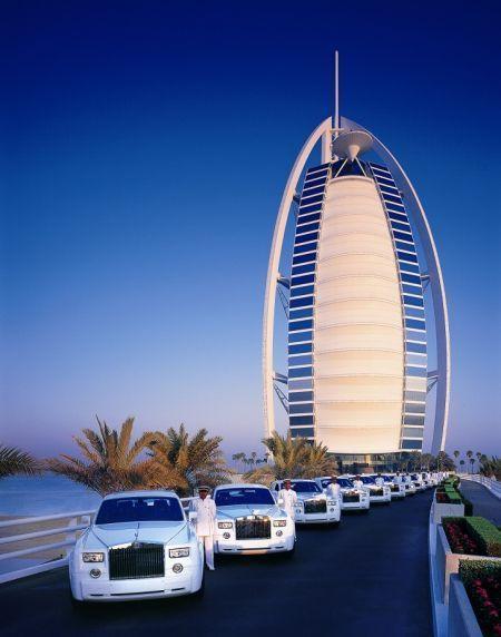 卓美亚帆船酒店Rolls Royce礼宾车队