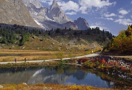 环勃朗峰徒步旅行(瑞士、意大利、法国)