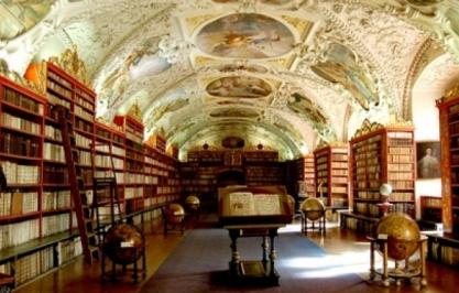 斯坦福大学充满艺术气息的图书馆
