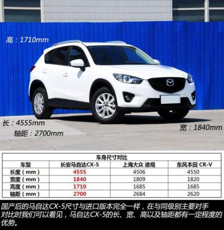 长安马自达cx-5上市 售16.98-25.28万元