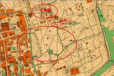上世纪40年代的南京老地图上