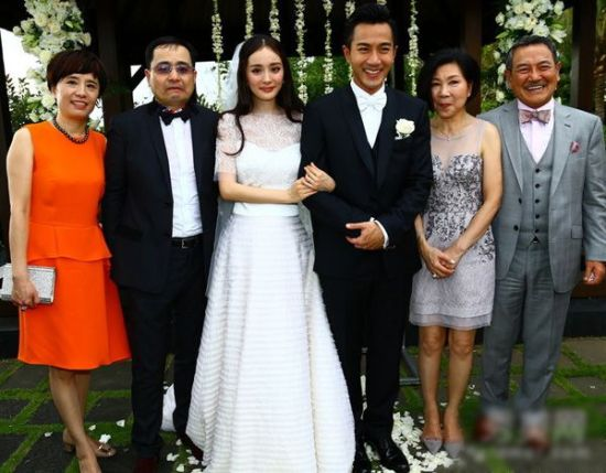 婚礼上的全家福