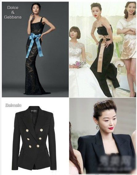 Dolce&Gabbana黑色蕾丝礼服