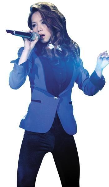 邓紫棋在《我是歌手2》
