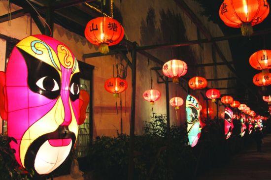 苏州金鸡湖音乐喷泉(水幕电影),苏州香樟园   ·休闲美食区——李公堤