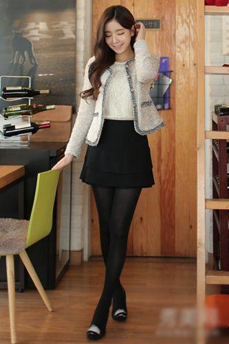 小香风格的外套
