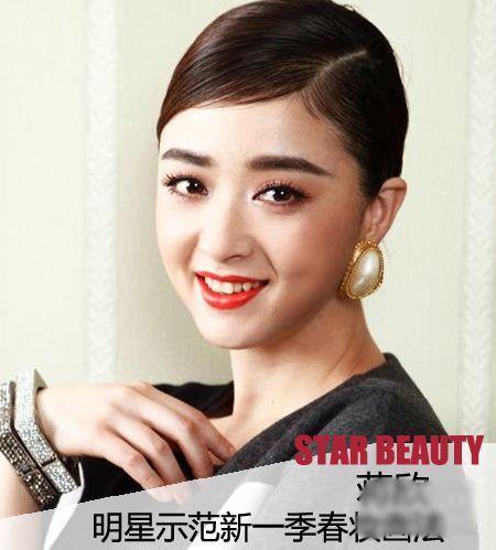 《健康与美容》杂志曝光了筹备已久的首期中国封面