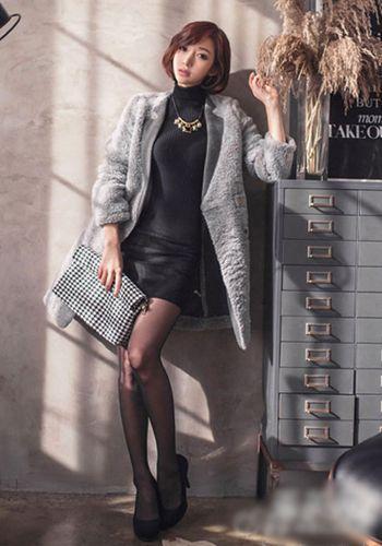 毛衣连衣裙 优雅LOOK1