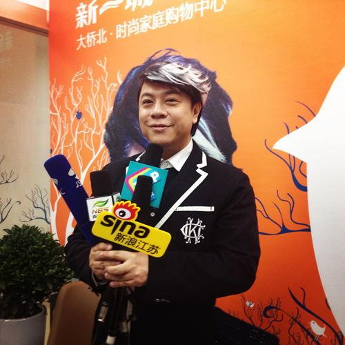 蔡康永接受媒体采访