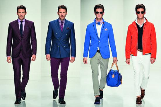 男装系列展现经典时尚