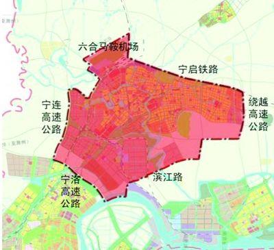 南京江北新区六合片区发展规划