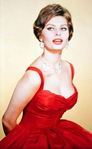 索菲亚•罗兰(Sophia Loren)