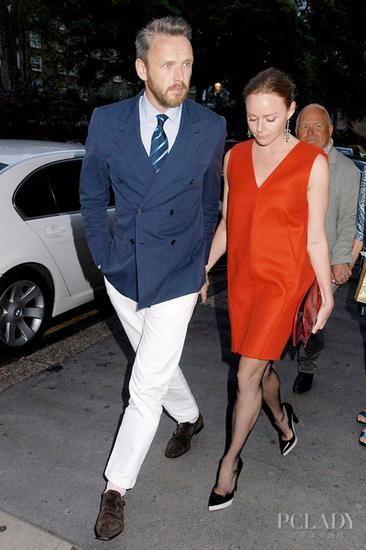 斯特拉-麦卡特尼(Stella McCartney)和丈夫Alasdhair Willis