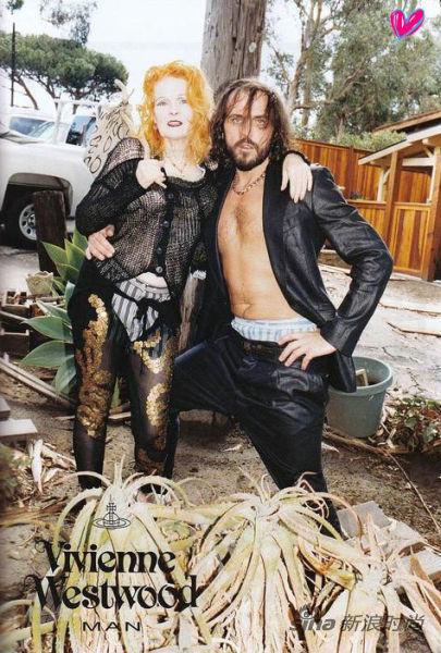 Vivienne Westwood & Andreas Kronthaler 合拍VW男装大片