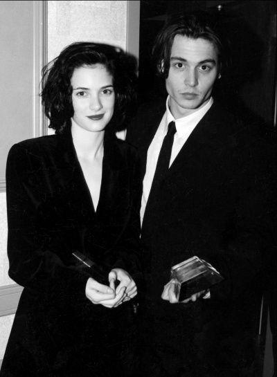 Johnny Depp与Winona Ryder