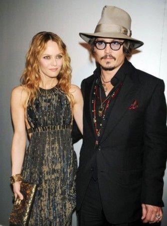 Johnny Depp与Vanessa Paradis