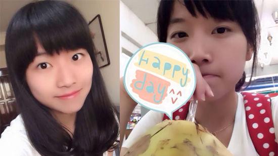 黄菡17岁女儿近照曝光 甜美可爱气质清纯