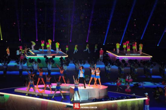 2014南京青奥会闭幕式舞台表演盛景
