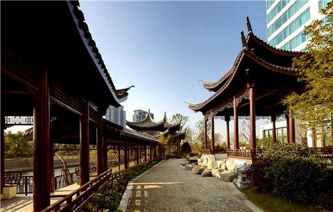 扬州香格里拉大酒店:一步一景尽享园林风光