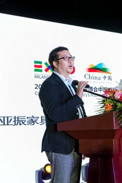 亚振家具股份有限公司董事,营销中心总监,亚振米兰世博事务部执行主任,徐辉先生