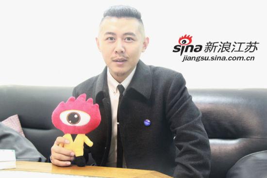 大冰接受新浪江苏记者采访