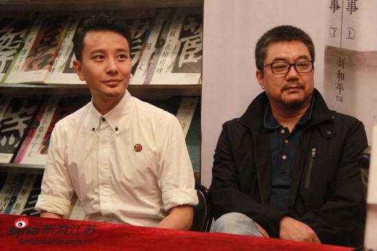剧中演员:孙之鸿(左)、董勇(右)